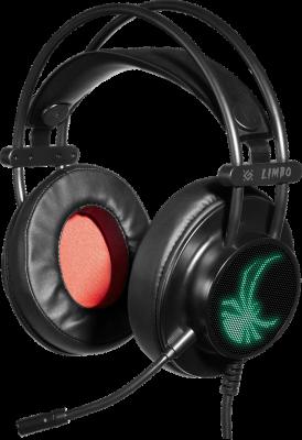 НОВИНКА. Игровая гарнитура Limbo объемный звук 7.1, провод 2.2м