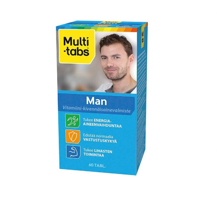 Multi-tabs Man 60 таблеток