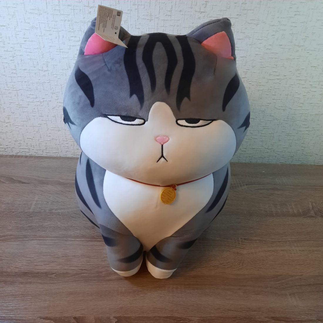 Мягкая игрушка толстый кот