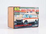 Сборная модель Автомобиль ВАЗ-2131-05