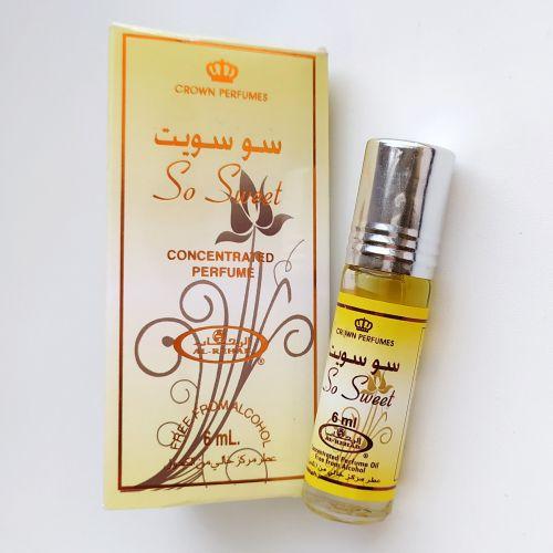 Арабские масляные духи So Sweet | Так мило | 6 мл | Al-Rehab | Унисекс