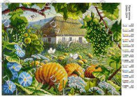 Dana DANA-2244. Родной Дом схема для вышивки бисером купить оптом в магазине Золотая Игла