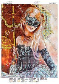 Dana DANA-2261. Мисс Загадка схема для вышивки бисером купить оптом в магазине Золотая Игла