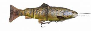 Приманка Savage Gear 4D Line Thru Trout (Форель) 150мм / 35 гр / цвет: Dark Brown Trout 57384
