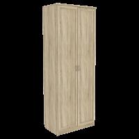 Шкаф для белья со штангой арт. 100 (дуб сонома)