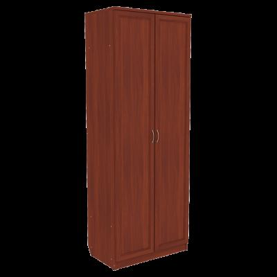 Шкаф для белья со штангой и полками арт. 101 (итальянский орех)