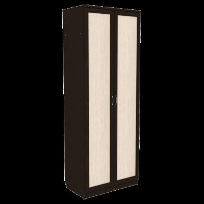 Шкаф для белья со штангой и полками арт. 101 (венге)