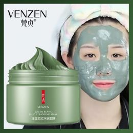 "Оригинал Маска очищающая Venzen ""Green Beans Mud"" 120 гр"