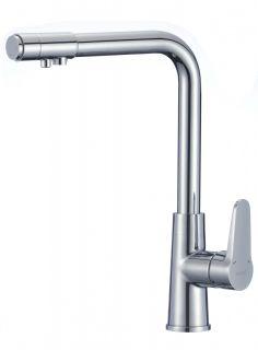 Смеситель для кухонной мойки под фильтр S-L1804 Savol хром