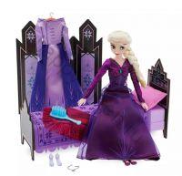 Кукла Эльза с одеждой и кроватью