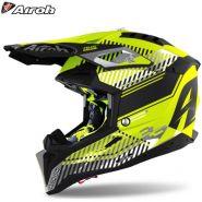 Шлем Airoh Aviator 3 Wave, Матовый жёлтый