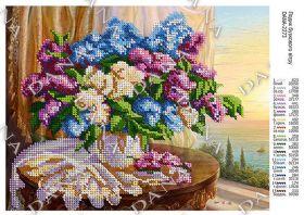 Dana DANA-2273. Веяние Сиреневого Ветра схема для вышивки бисером купить оптом в магазине Золотая Игла