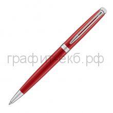 Ручка шариковая Waterman Hemisphere CT Red Comet нержавеющая сталь/лак 2046601
