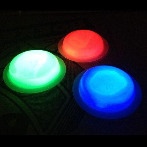 Светящийся круглый значок Glow Badge, 1 шт