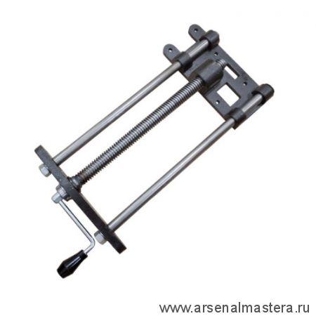 Винт для верстачных тисков со съёмной магнитной рукоятью с двумя направляющими D 28 мм 550 / 335 мм York HV516 MH М00018060