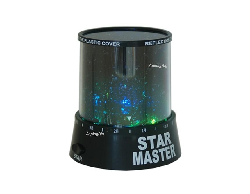 Ночник-проектор Star Master звездного неба (Темный)