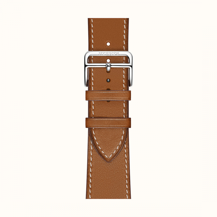 Ремешок Apple Watch Hermès Fauve Barenia Leather Single Tour из кожи (для корпуса 44 мм)
