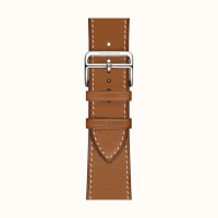 Ремешок Apple Watch Hermès Fauve Barenia Leather Single Tour из кожи (для корпуса 44 мм)