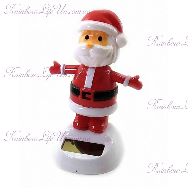 "Дед мороз танцующий на солнечной батарее ""Flip Flap"""