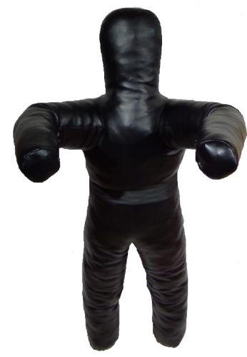 Манекен двуногий для борьбы 110 см, 25 кг, кожзаменитель