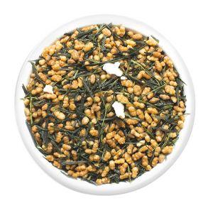 Генмайча, зеленый чай с рисом.