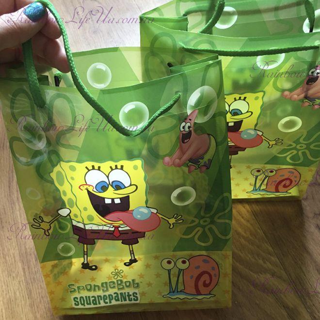 """Пакет подарочный """"Спанч Боб"""""""