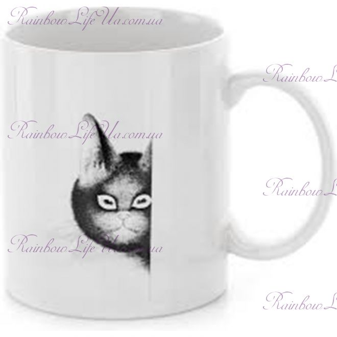 "Чашка кот на страже ""Parastone"""