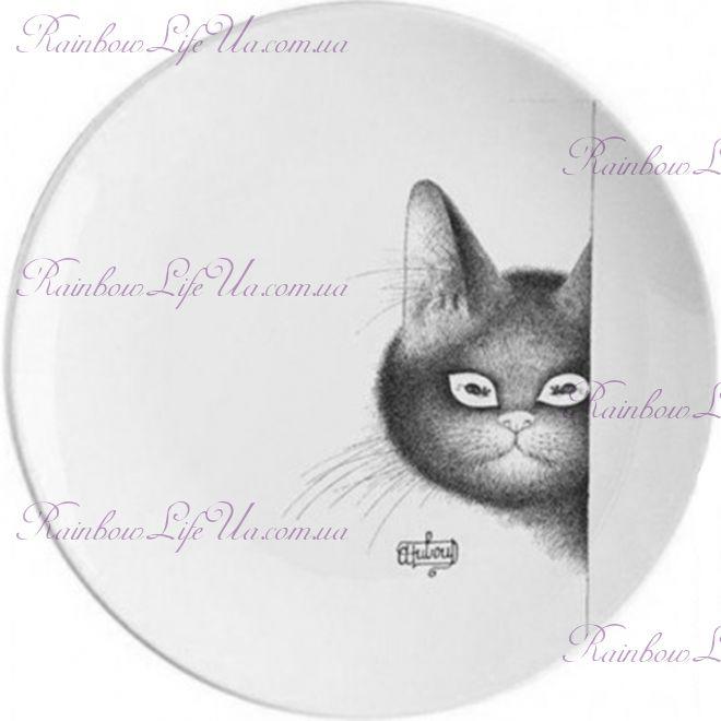 """Тарелка кот на страже """"Parastone"""""""