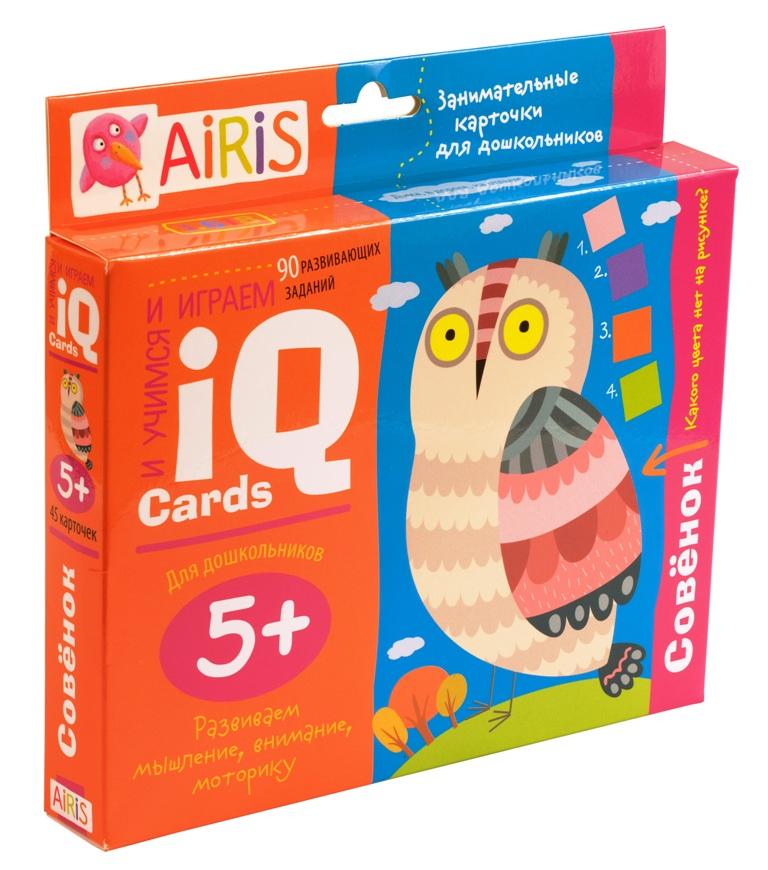Набор карточек для дошколят. Совёнок (5+)
