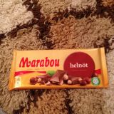 Marabou Milk chocolate with Wholenut 200g