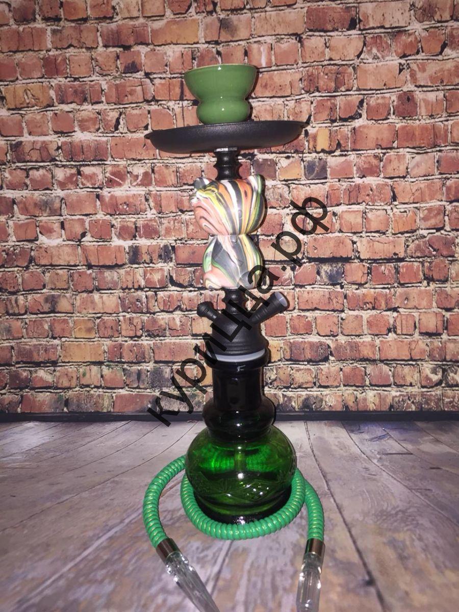 Кальян Мишка зеленый