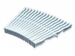 Решетка переливная для круглого бассейна Kripsol NМС 2534.С (белая с легким голубым оттенком, 34х245 мм)
