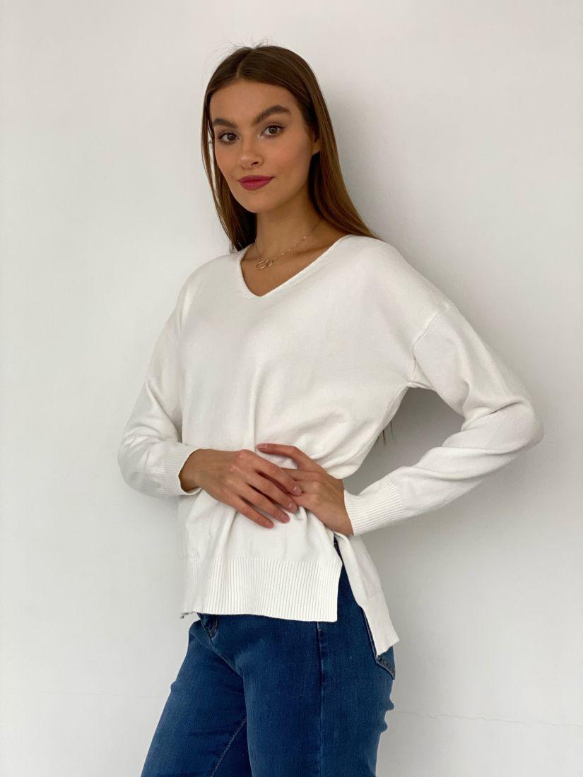 s3399 Пуловер белый