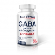 Be First GABA Capsules 60 капсул.