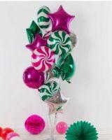 Шары на Новый Год с конфетками
