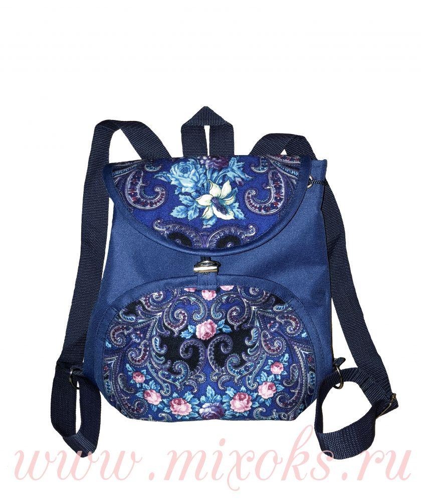 Рюкзак в русском стиле