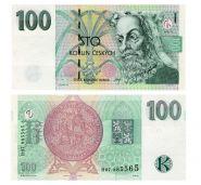 Чехия - 100 крон, 1997. UNC. Мультилот