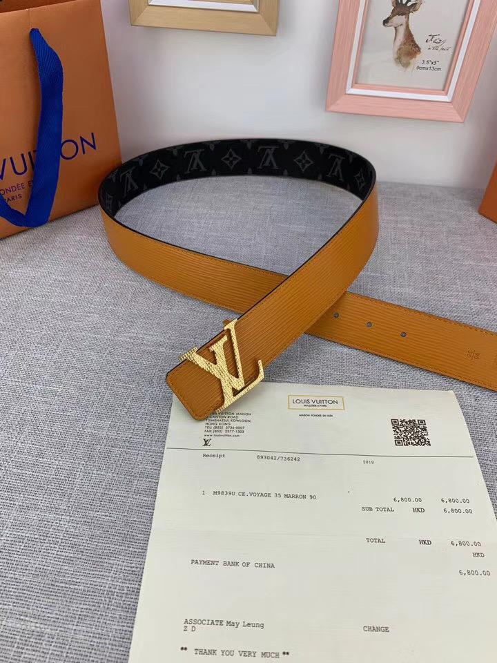 Ремень Lous Vuitton 38 cm