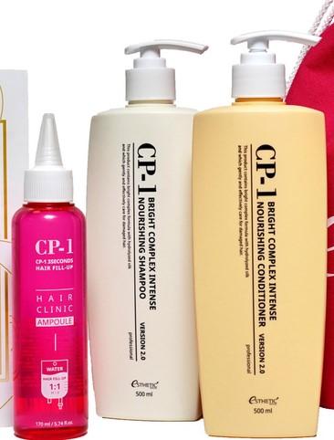 Набор ESTHETIC HOUSE для волос CP-1 BС Питательный 500 (шампунь+кондиционер+маска-филлер 170 мл.)
