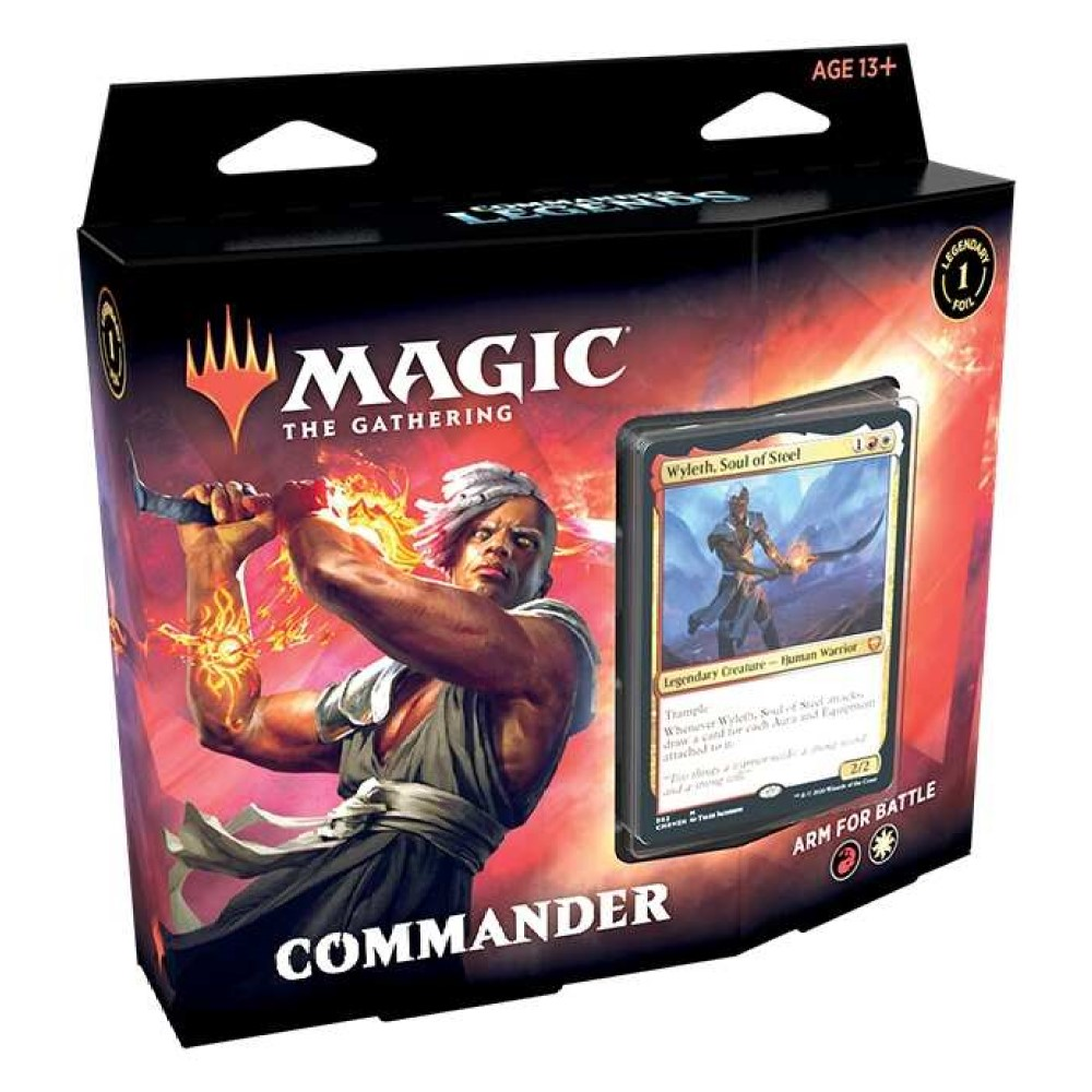 MTG: Колода Commander Deck: 2 издания Commander Legends на русском языке