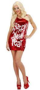 Платье вечернее блестящее Happy New Year
