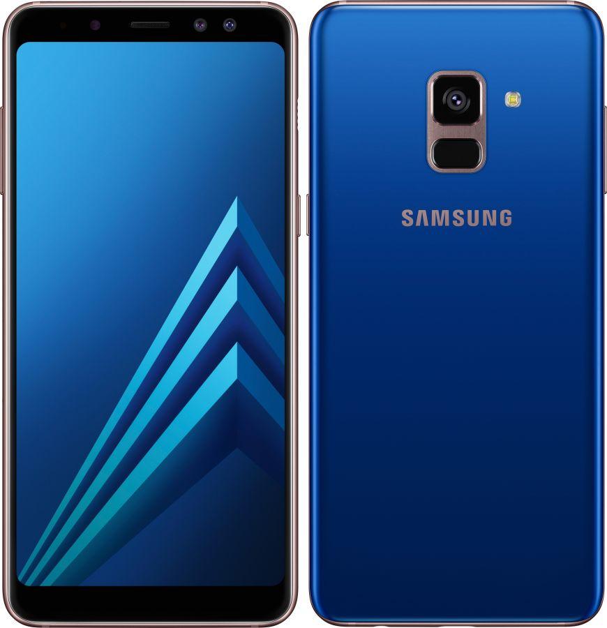 Samsung Galaxy A8 (2018) (SM-A530F/DS) 32Gb (Blue) (SM-A530FZBDSER)