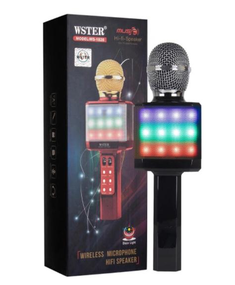 Портативный караоке-микрофон WS-1828