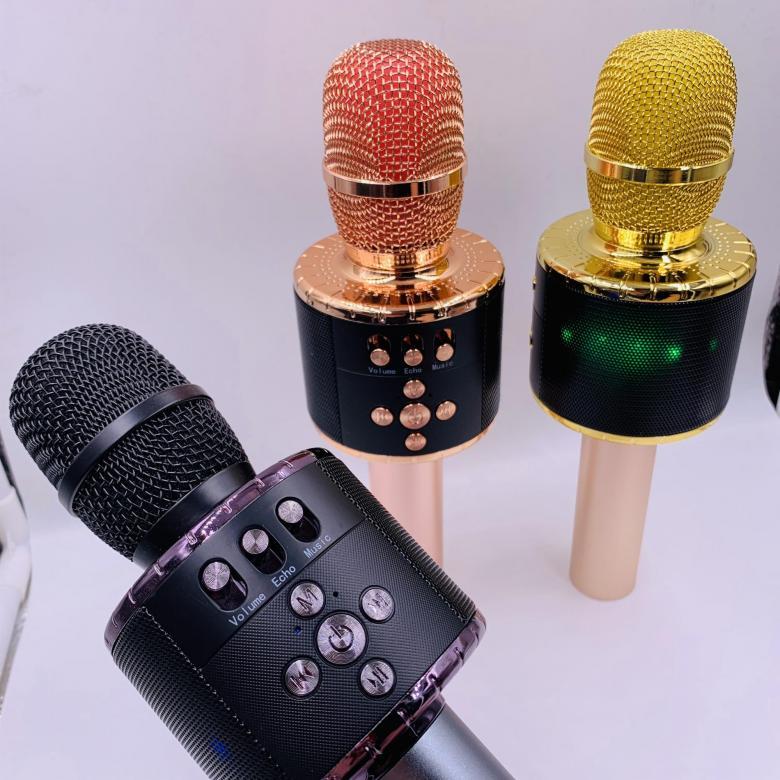 Микрофон-колонка D18