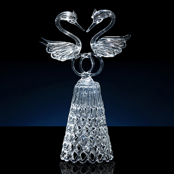 """Колокольчик """"Свадебные лебеди"""" (средний)"""