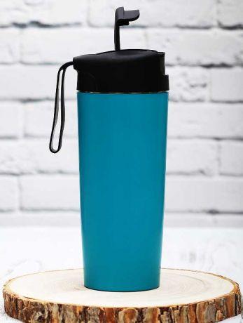 Термостакан повышенной устойчивости синий