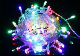 Светодиодная гирлянда влагостойкая 20 метров цветная