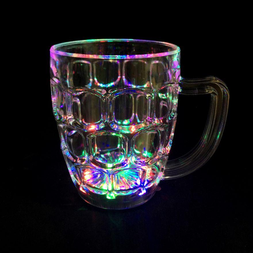 Светящаяся кружка для пива Led Light-up Drinkware Beer Mug, 350 мл