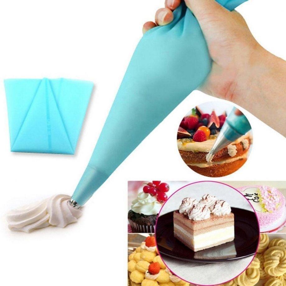 Кондитерский мешок с 8 насадками Nozzles Sacco Decorator Icing Bag