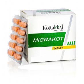 Мигракот от головной боли и от стресса 100 таб.Migrakot Arya Vaidya Sala Kottakkal